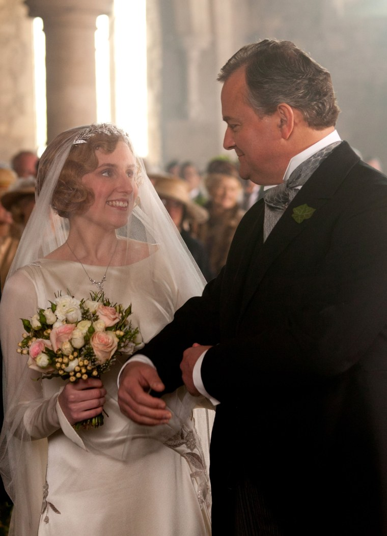 Downton Abbey\': Edith goes from weak sister to radiant bride