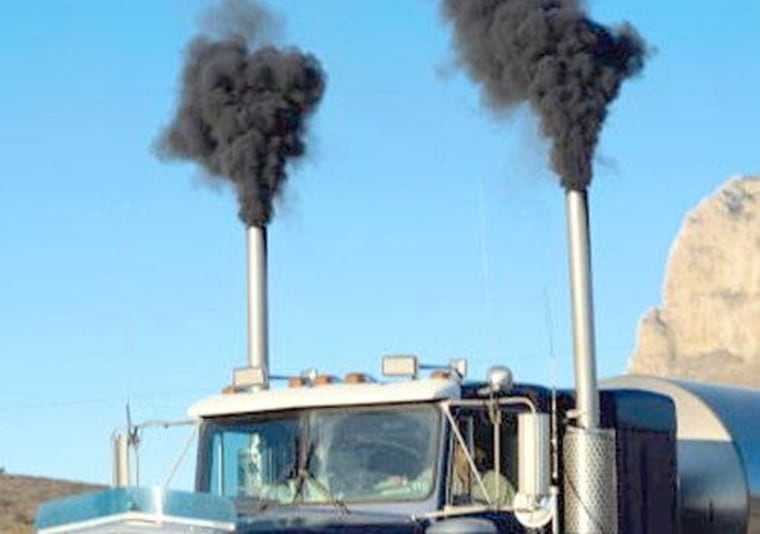 Scientists say cutting back on emissions from diesel engines could slow global warming quickly.