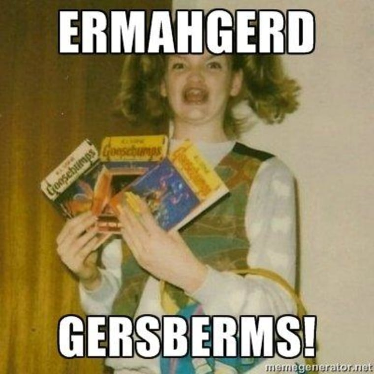 ERMAHGERD! R. L. Stine flummoxed by 'GERSBERMS' meme