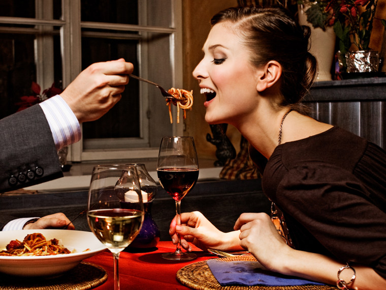 Enjoy pasta for dinner -- carbs at night can help you lose weight, new research suggests.