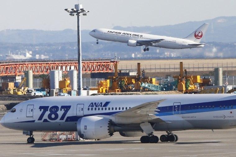 All Nippon Airways' Boeing 787