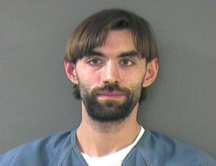 Police say they found Christian Oberender with 13 guns, despite the fact he couldn't legally purchase any.