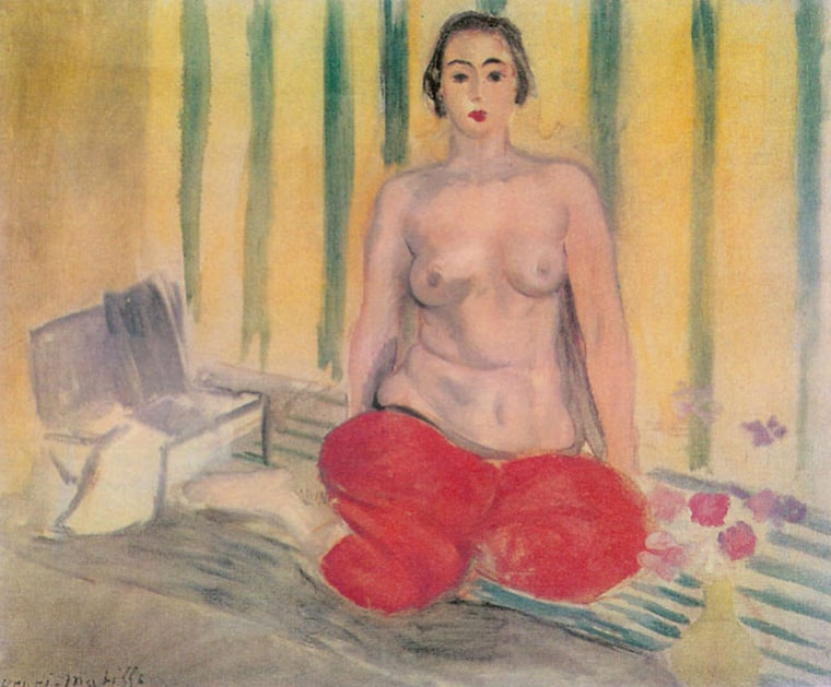 ""\""""Odalisque in Pants"""" by Henri Matisse.""760|629|?|en|2|68d3da48caaa5ed637415452e560143e|False|UNLIKELY|0.3531598746776581