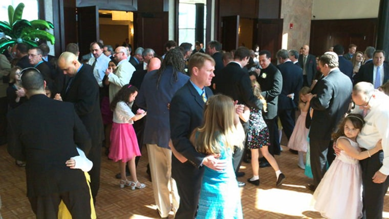 Father-daughter dances like this one would be allowed -- once again -- if a proposed state law passes.