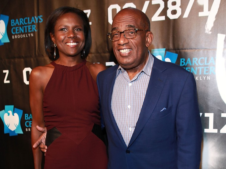 Al Roker has long struggled with his weight, hitting close to 350 pounds. He says that caused conflict in his marriage. Here, he and his wife Deborah Roberts attend a Jay-Z on Sept. 28, 2012 in New York City.