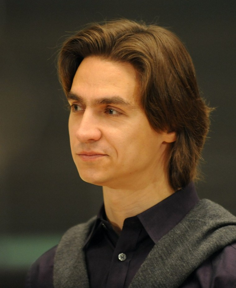 An April 2011 photo shows Sergei Filin, artistic director of the Bolshoi Ballet, as he looked before an attacker threw acid in his face in Moscow on Friday.
