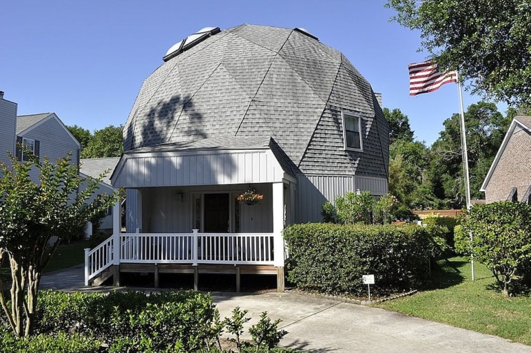 This unusual dome home in North Myrtle Beach, S.C., is on the market for $338,499.