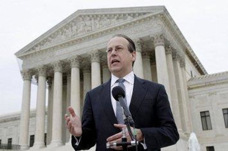 Paul Clement at the U.S. Supreme Court