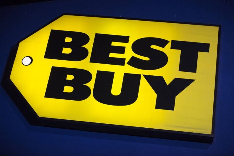 Best Buy has seen a 1.4 percent decline in same-store sales year over year.