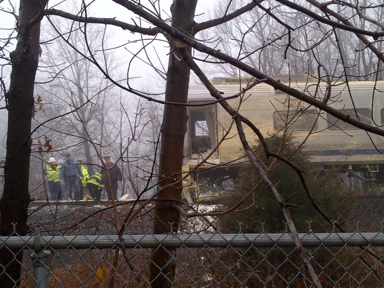 An NJ Transit train full of commuters collided with a tractor-trailer in Little Falls, N.J.. Wednesday morning.