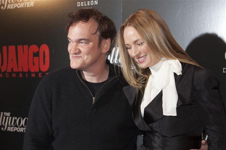 Uma Thurman worked with Quentin Tarantino in his 1994 hit