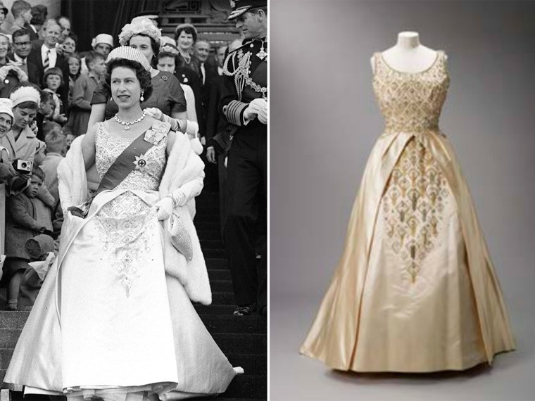 New Royal Fashion Exhibit Honors Queen Elizabeth Princess Diana S Exotic Style