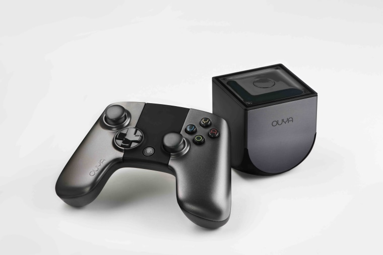 The Ouya console and controller were both designed by the acclaimed industrial designers Yves Béhar. While the controller doesn't have some current or next-gen features like vibration or motion-control inputs yet, it still feels sturdy and comfortable in your hands.