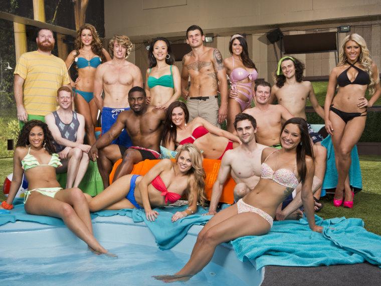 "Image: \""Big Brother's\"" season 15 cast"