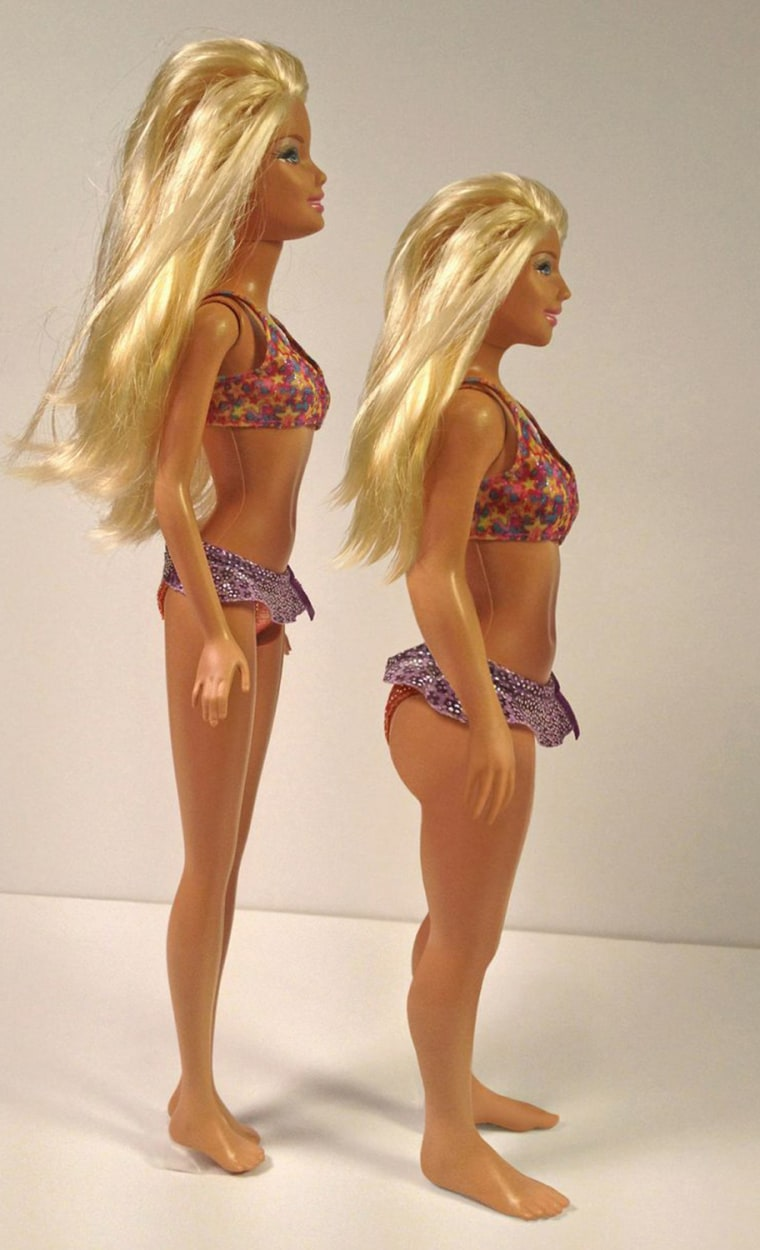 """Lamm created the normal Barbie because he """"wanted to show that average is beautiful."""""""