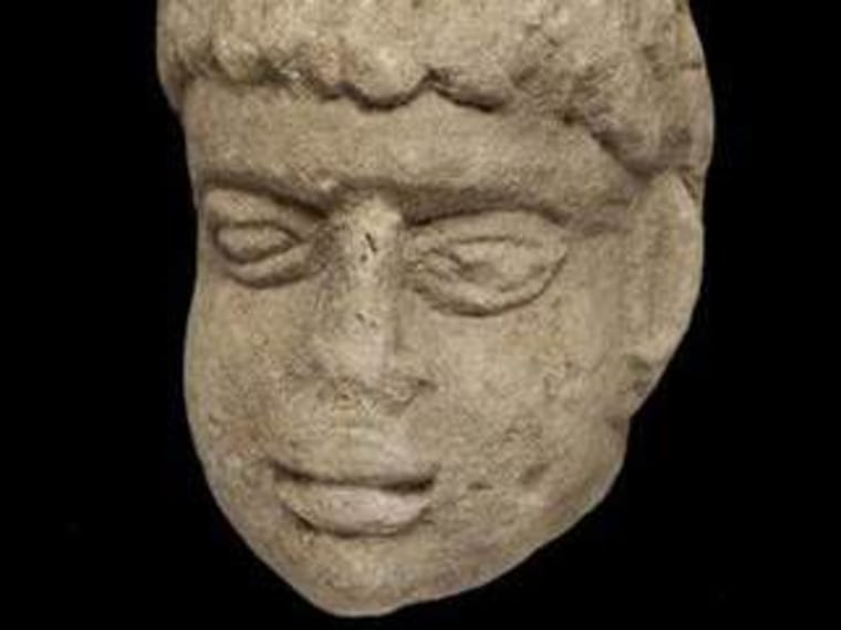 Ancient carving of Roman god discovered in English garbage pit