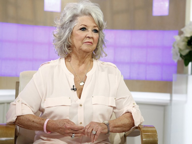 """TODAY -- Pictured: Paula Deen appears on NBC News' """"Today"""" show -- (Photo by: Peter Kramer/NBC/NBC NewsWire via Getty Images)"""