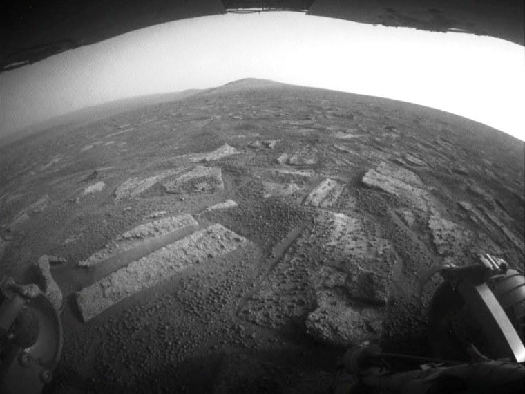 Image: Martian terrain