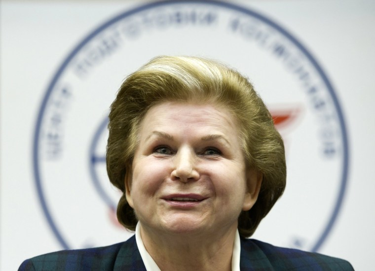 Valentina Tereshkova, the world's first female astronaut, is among the headliners of the group of 14,000 torchbearers for the 2014 Winter Olympics in Sochi.