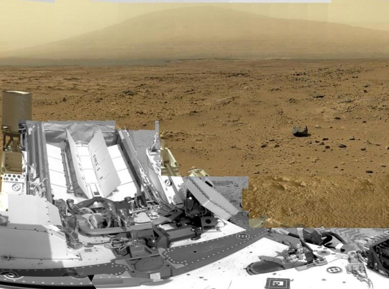 Curiosity rover begins months-long trek to mountain on Mars