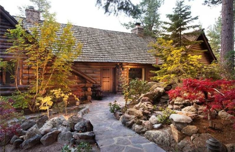 Howard Hughes bought this property on the shores of Lake Tahoe in the 1950s.