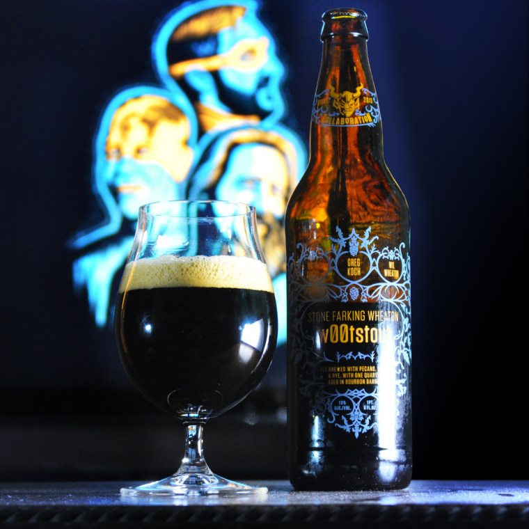 Stone Farking Wheaton w00tstout: The geekiest beer in the world