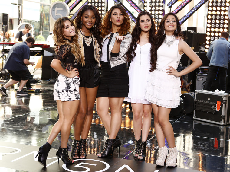 The ladies of 'Fifth Harmony' on TODAY.