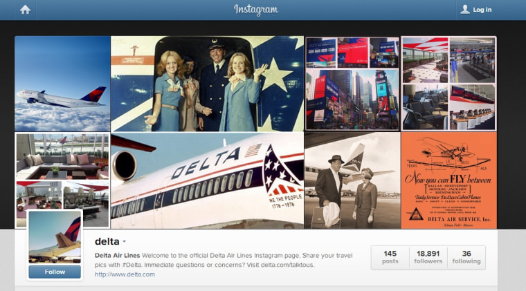 Delta on Instagram