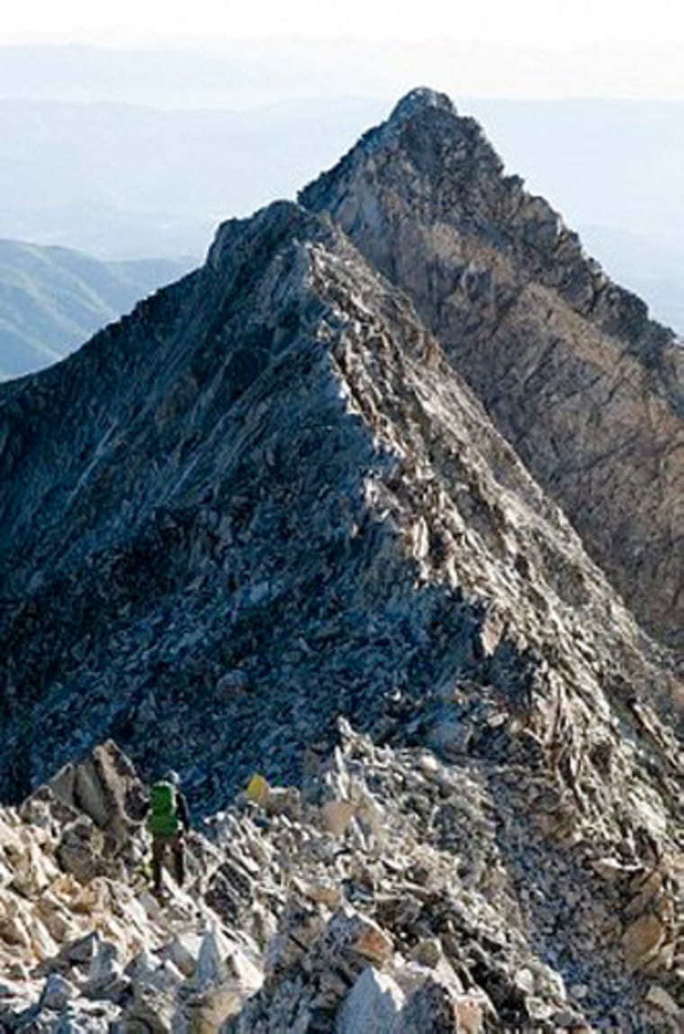 At least seven other deaths have occurred on Capitol Peak in White River National Forest near Aspen, Colo.