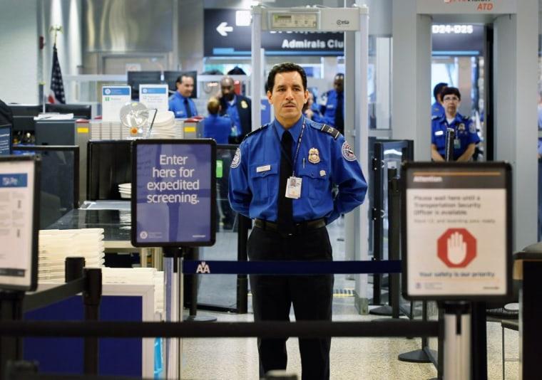 TSA agent precheck