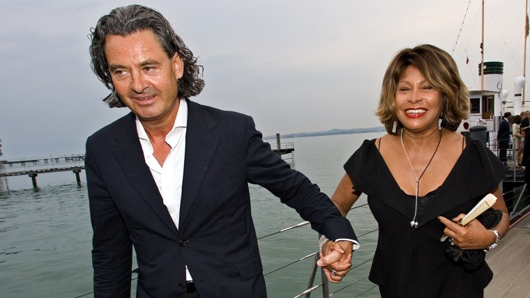 Erwin Bach and Tina Turner in 2007.