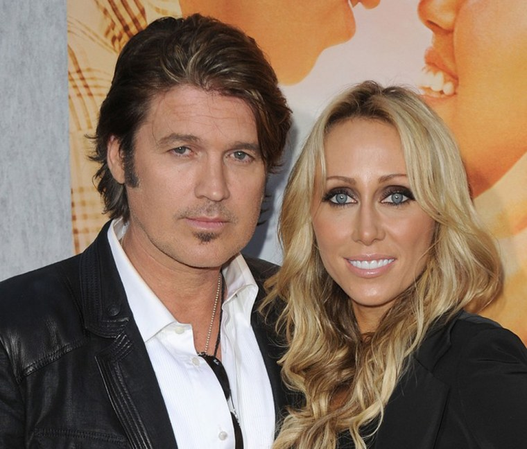 Billy Ray Cyrus and Tish Cyrus in 2010.