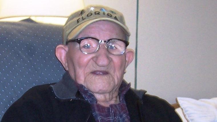 world's oldest man tease