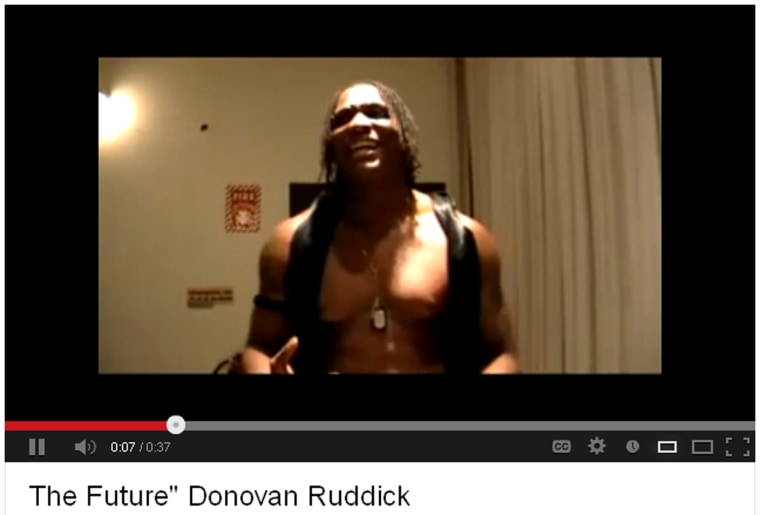 Brian Michael McGhee as 'The Future' in a promotional video.