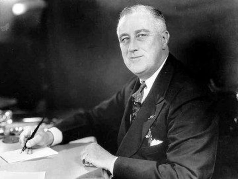 FDR pursued court packing; Obama has not.