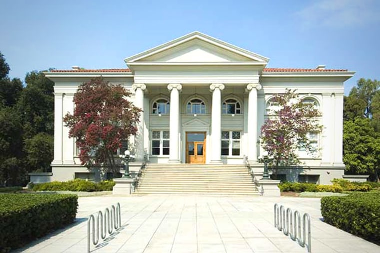 Pomona College ranked No. 2 on the Forbes list of top colleges. Stanford, also in California, was at the top of the list.