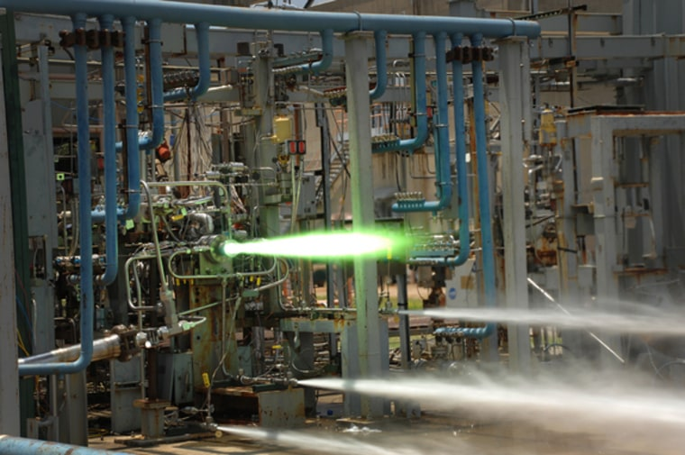 3-D-printed rocket parts excel again in NASA hot-fire tests