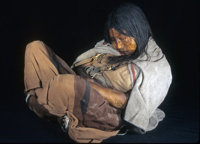 Image of Inca mummy
