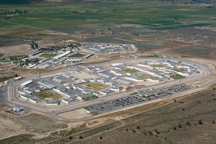 An undated handout image released by the California Department of Corrections and Rehabilitation shows the High Desert State Prison in Susanville, Calif.