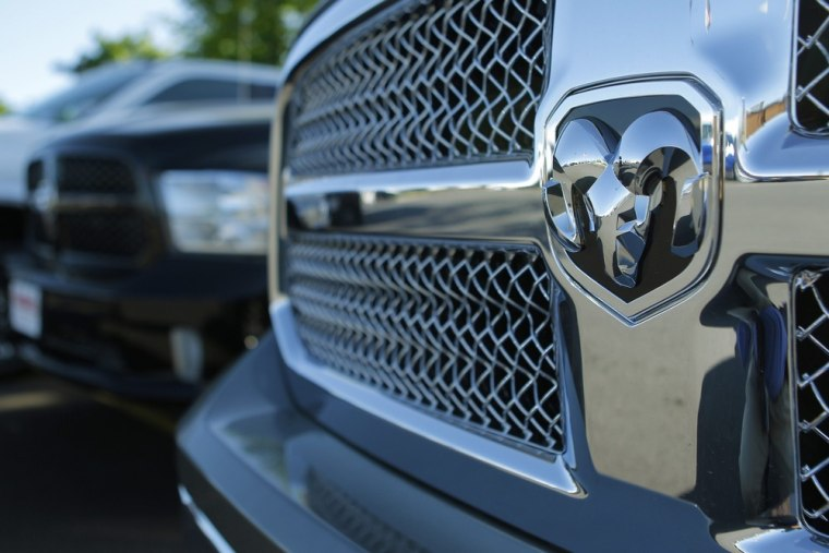 A 2013 Dodge Ram pickup truck is seen in Gaithersburg, Maryland,May 1, 2013.