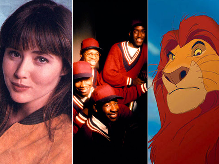 "Image: \""Beverly Hills, 90210,\"" Boyz II Men, \""Lion King\"""