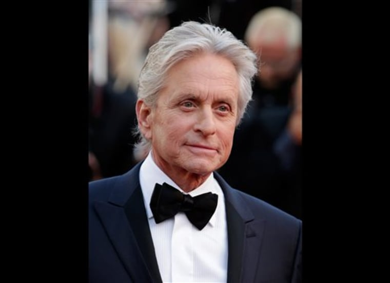 Rep: Michael Douglas was misquoted about cause of cancer