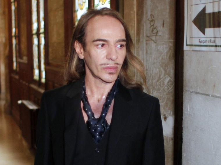 Former Dior designer John Galliano opens up in a Vanity Fair interview about his controversial anti-Semitic rant that got him fired from the fashion house two years ago.