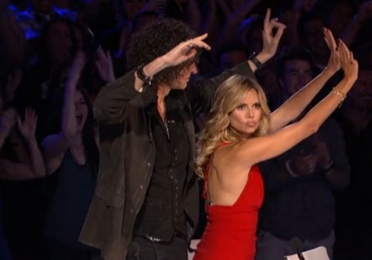 ""\""""America's Got Talent"""" judges Howard Stern and Heidi Klum were moved by Tone the Chief Rocka's performance.""760|532|?|en|2|2f82266f0ef11035ce89f626cf104bbc|False|UNLIKELY|0.328220009803772
