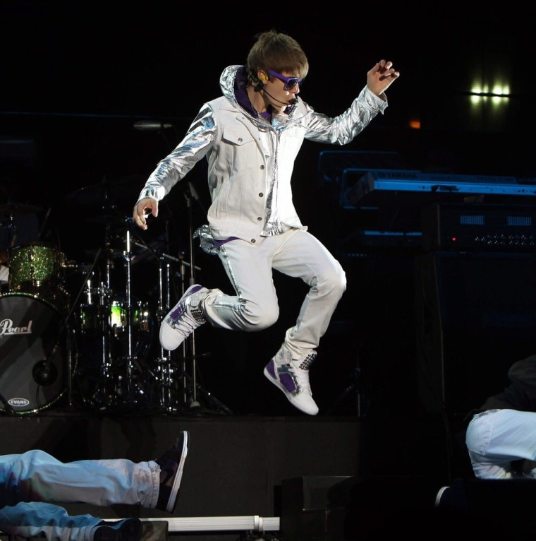 Singer Justin Bieber plans to go airborne on a future suborbital spaceflight, according to Virgin Galactic founder Richard Branson. Bieber's agent, Scooter Braun, has reportedly signed up as well.