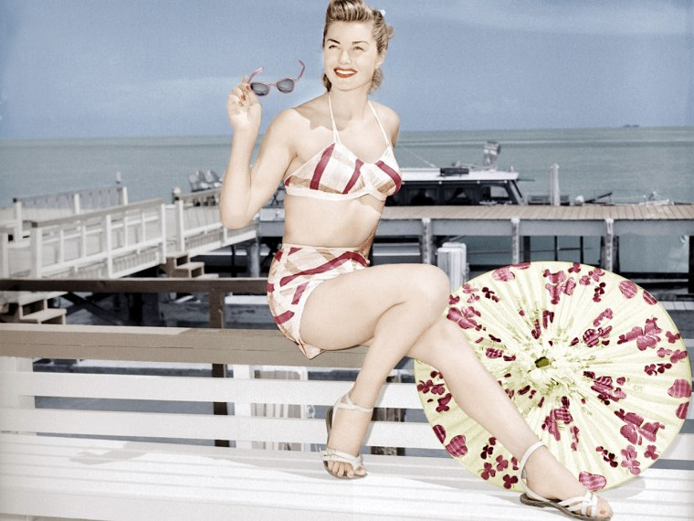 """Esther Williams in \""""On An Island With You\"""" in 1948."""