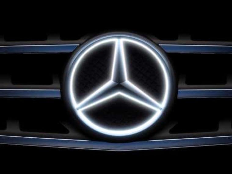 Benz's bright idea: Light up the hood ornament