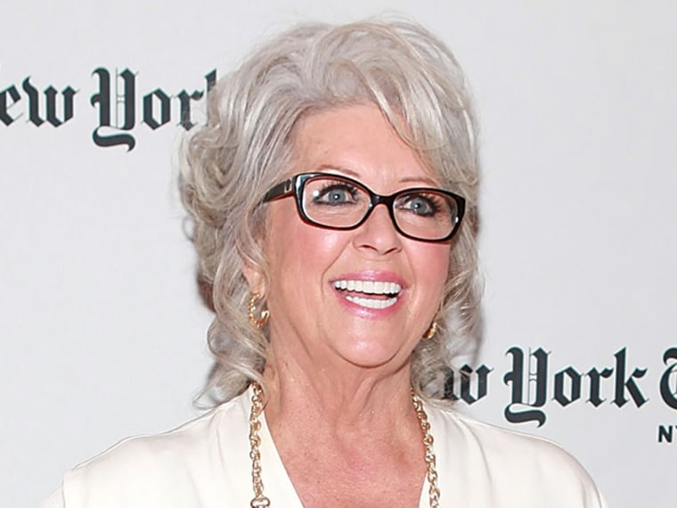 Chef Paula Deen attends TimesTalks: A Conversation With Marcus Samuelsson And Paula Deen at The Times Center on Oct. 13, 2012 in New York City.