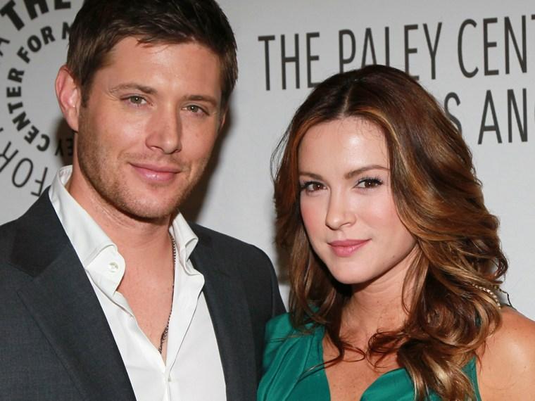 Jensen Ackles and Danneel Ackles.