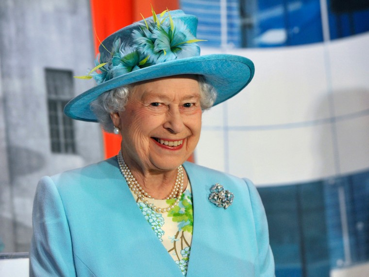 Britain's Queen Elizabeth visits the BBC Broadcasting House in London June 7, 2013. Prince Philip, the 91-year-old husband of Britain's Queen Elizabet...
